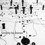 Sonicity artwork installation by artist Stanza in 2010