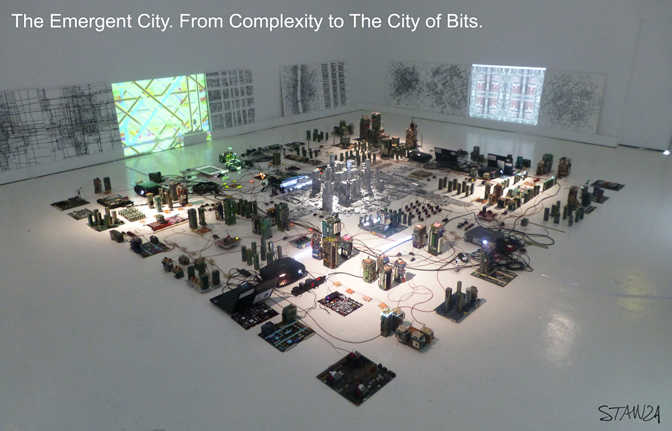 The Emergent City. From Complexity to The City of Bits. By Stanza
