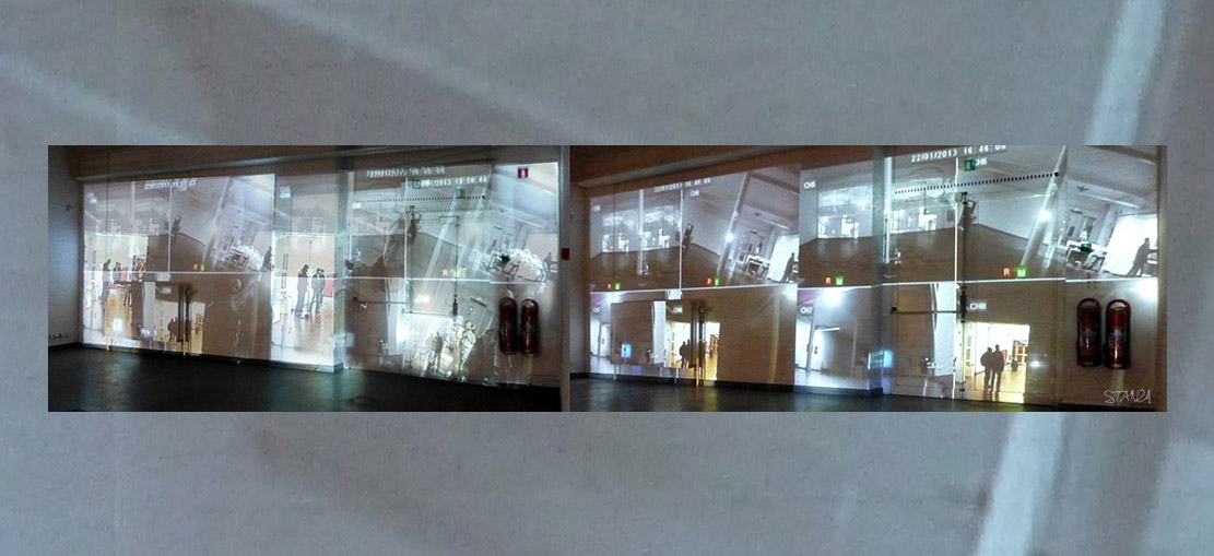Visitors To A Gallery. 2004+